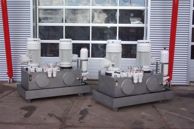 Hydraulic System for gangway and loading technology