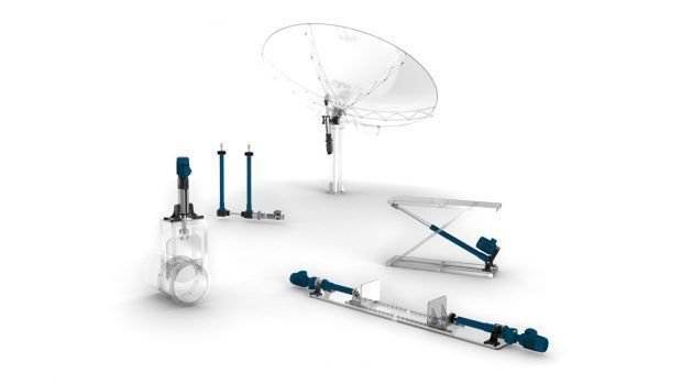 Linear actuators system