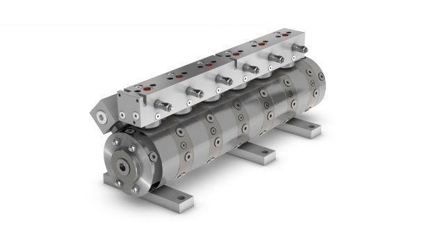 Radial piston flow divider MTL