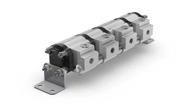 Gear flow divider MTO aluminium
