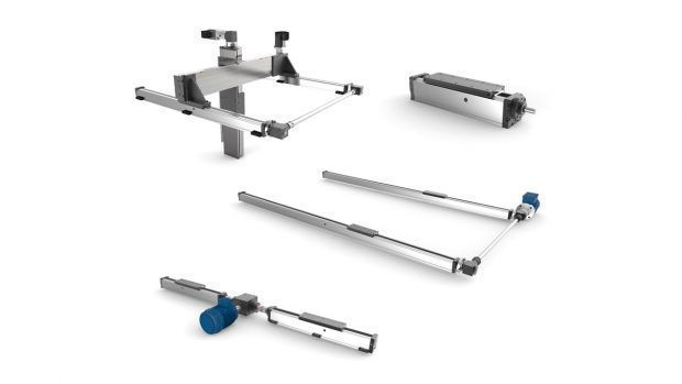 Rodless mechanical cylinder systems