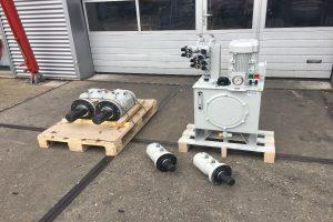 System measuring instruments Pompeï