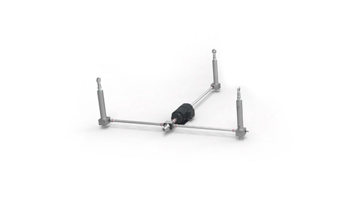 Three shaft screw jack system • Holland Motion Group