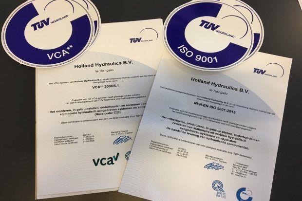 VCA 2008 5.1 en ISO 9001 2015
